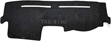 Hex Autoparts Dash Cover Mat Dashboard Cover Dashmat Black for Toyota Camry 2007 2008 2009 2010 2011
