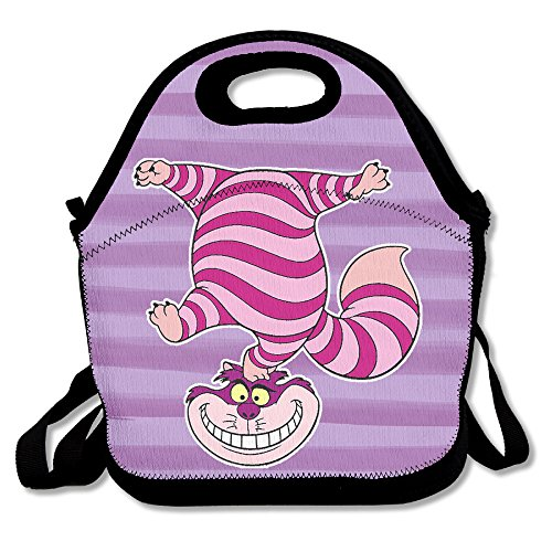 SuperWW Chesser Cat Lunch Bag Tote Handbag