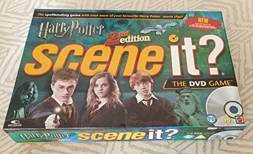 Harry Potter 2nd Edition Scene It The Dvd Game Amazon Com Au Toys Games