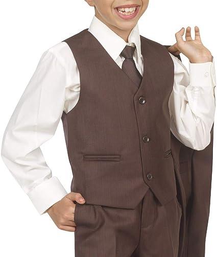 Amazon.com: TAZIO Boys 5 pieza Boy Fit traje con chaleco ...