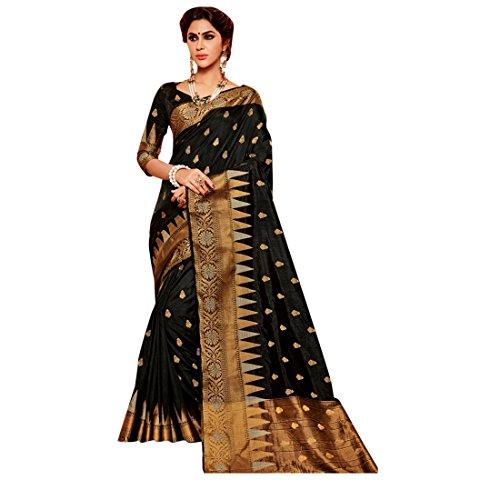 ri Saree Collection Silk Sari Blouse Formal Designer Muslim Women Indian Ethnic 2602 hit ()
