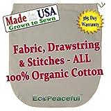 USA-Organic-Cotton-Nut-Milk-Bag-Read-our-Fake-Organic-Warning-Truly-100-Organic-Cotton-Sewn-w-100-Organic-Cotton-Threads