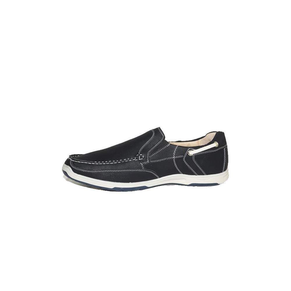 PEZZANO Mocas/ín Neo R11 Zapatos Mocasines Hombre Negros Modernos Casuales Baratos