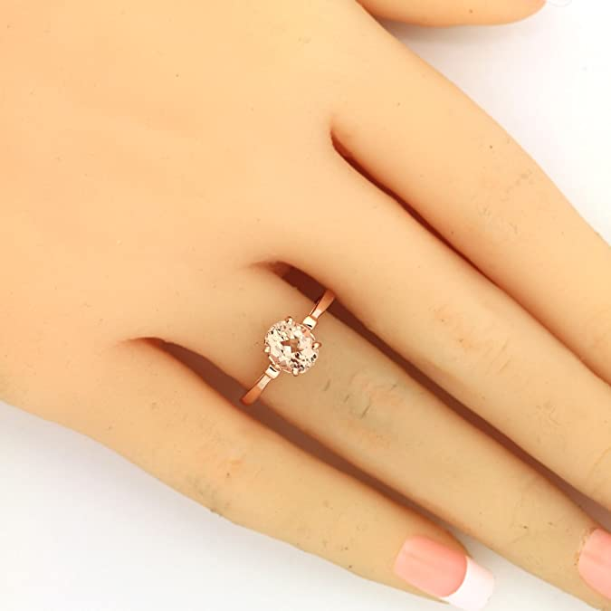 Rings Size 8 Charitable 3.7 Tcw Classic Round Solitaire Cz Bridal Engagement Wedding Ring Set Engagement/wedding Ring Sets