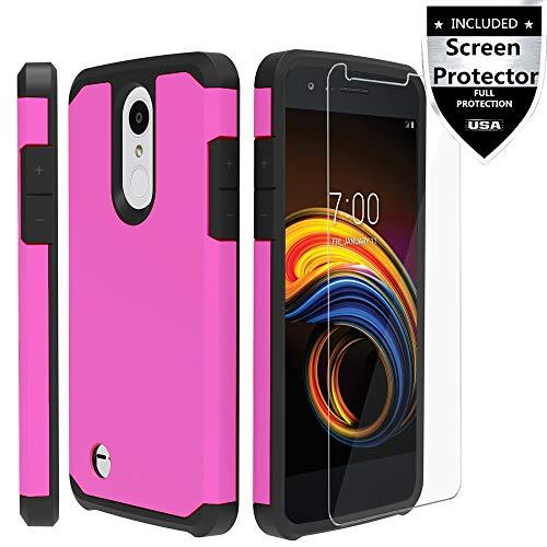 LG Aristo/Aristo 2/Aristo 3/Aristo 2 Plus/Tribute Empire/Tribute Dynasty/Rebel 3/Rebel 4 LTE/Fortune/Fortune 2/Phoenix 3/Phoenix 4/Risio 2/Risio 3/Zone 4/K8 2017/ K8S / K8 Plus/K8 2018 Case - Pink (Lg Tribute Pink Phone Case)