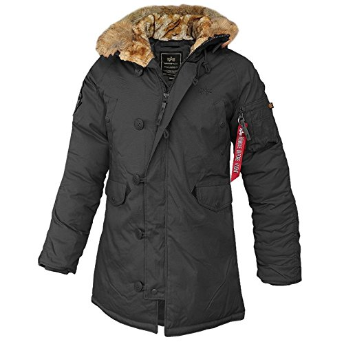 Alpha Industries - Explorer Wmn Frauen Winterjacke schwarz
