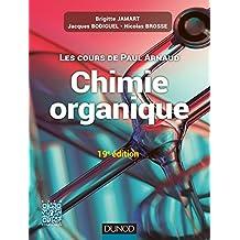COURS DE CHIMIE ORGANIQUE 19E ÉD.