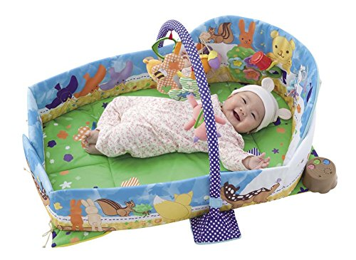 Out of the baby world Gokigen Circle gym & carefree mat by people