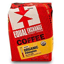 Equal Exchange Organic Coffee Ethiopian Whole Bean (6x12Oz ) 8 Enjoy equal exchange organic coffee ethiopian whole bean. This naturally processed coffee is incredibly complex with blueberry, chocolate and fresh ginger
