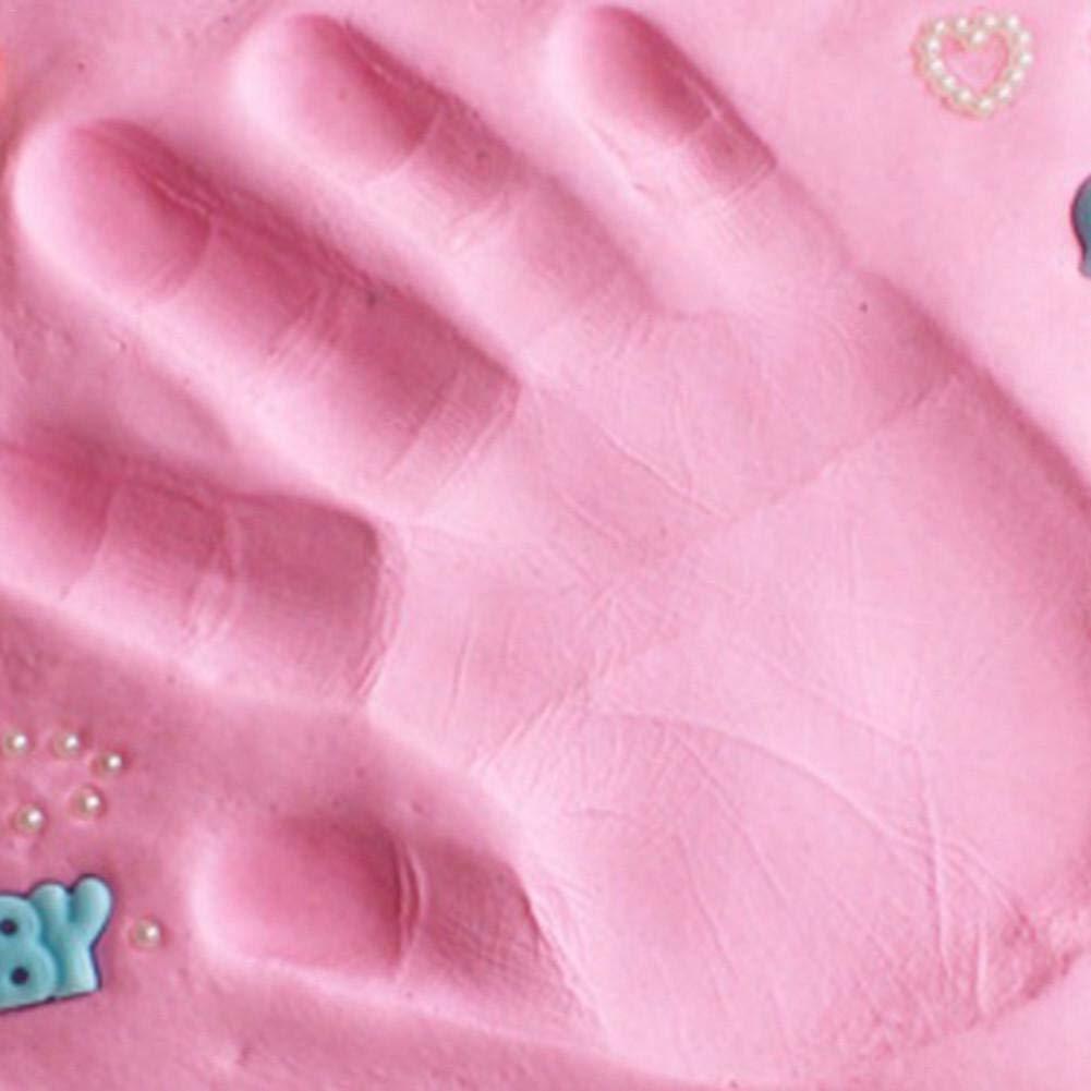 Neugeborene Geschenken F/ür Babys Erinnerungen F/ür Die Ewigkeit Ardorman Ton Handabdruck Baby Handabdruck Und Fu/ßabdruck Fu/ßabdruck Oder Pfotenabdruck Aufbewahrungsset