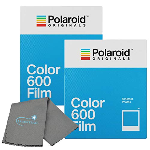 Buy Cheap Polaroid Originals Color Instant Film for 600 and i-Type Cameras Bundle with a Lumintrail Cleaning Cloth