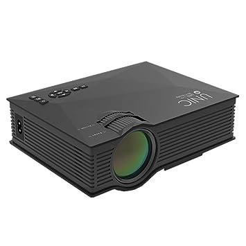 TLgf Inicio HD proyector Pico, 1080P Apple Android teléfono ...