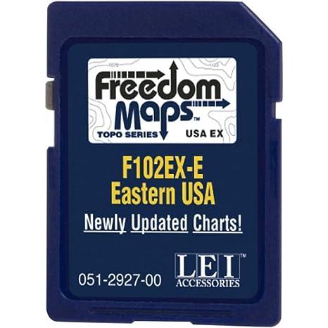 lowrance freedommaps