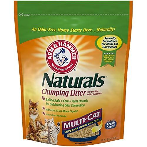 Arm & Hammer Naturals, Multi-Cat Litter, 18 Lbs