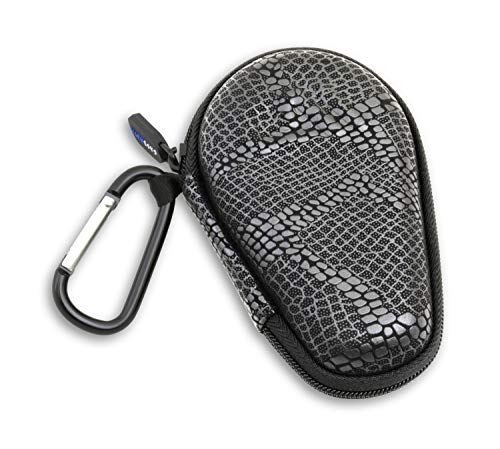 - CASEMATIX Asthma Inhaler Case Includes Carabiner for Travel While Keeping it Dust and Dirt Free - Prevent Accidental Sprays (Snakeskin Pattern)