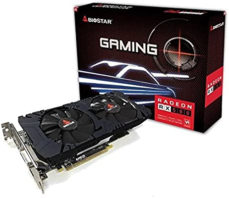 Amazon.com: Biostar Radeon RX 580 8GB DDR5 DirectX 12 ...