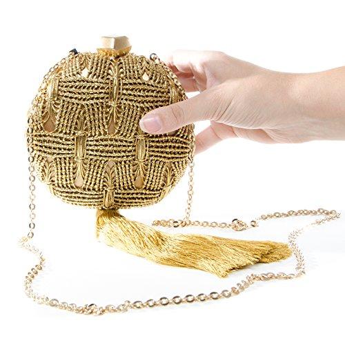 Borsa couture Intropia 405 Car Gold 4288 Donna Haute 909 vwp6dfqx