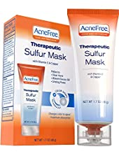 If you experience oily skin with acne, the AcneFree Therapeutic Sulfur Mask is the solution for you. This penetrating pore therapy soothes acne-inflamed skin and absorbs excess oils. This treatment is for acne or acne prone skin and also remo...