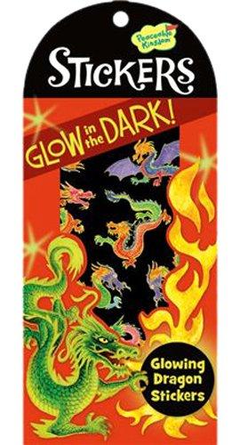 Peaceable Kingdom 4204751 Glowing Dragon Mini Stickers ...