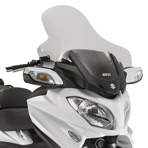 Motorrad Windschutzscheibe Suzuki Burgman 650 13-18 Givi transparent