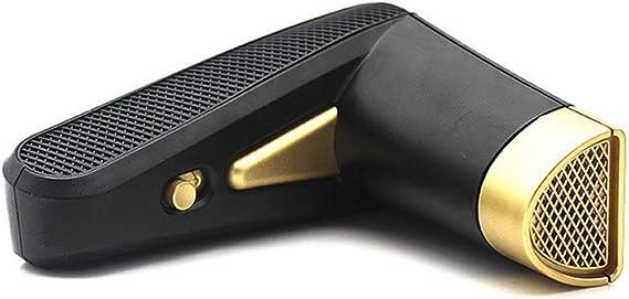 アロマオーブン電気アロマセラピーデバイス充電式ポータブルミニUSBアロマディフューザー,黒