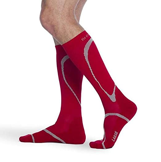 247ca7f193 Image Unavailable. Image not available for. Color: SIGVARIS Traverse Sock  412 Calf High Compression ...