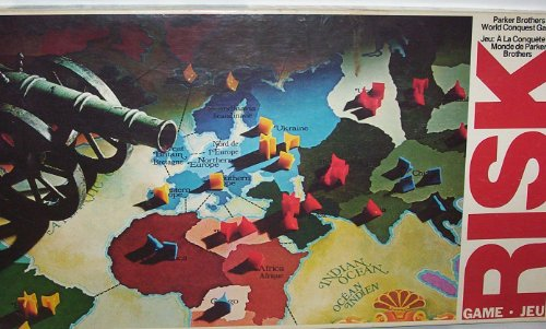 (Risk 1980 Board Game)