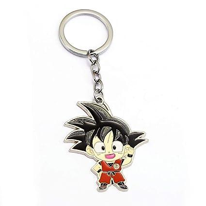 Algol - Dragon Ball Z Keychain Son Goku Pendant Metal Key ...