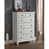 Roundhill Furniture Regitina 016 Bedroom Chest, White