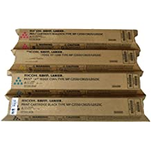 Ricoh 841280, 841281, 841282, 841283 Standard Yield Toner Cartridge Set - Ricoh Aficio MP C2550