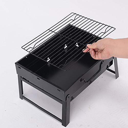 XBR Barbacoa Portátil de Acero Inoxidable Pequeño Barbecue ...
