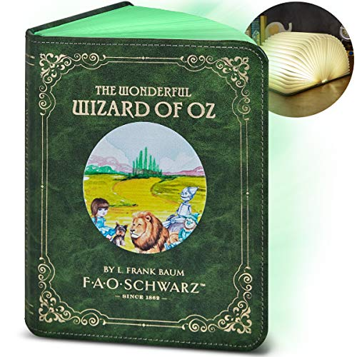 Light Up Book 8.5inch FAO SCHWARZ Color Changing