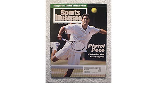 Pete Sampras - 1994 Wimbledon Champion - Sports Illustrated - July 11, 1994 - Tennis - SI at Amazons Sports Collectibles Store