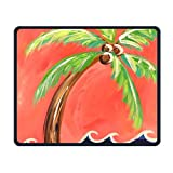 Coconut Tree Smooth Nice Personality Design Mobile Gaming Mouse Pad Work Mouse Pad Office Pad