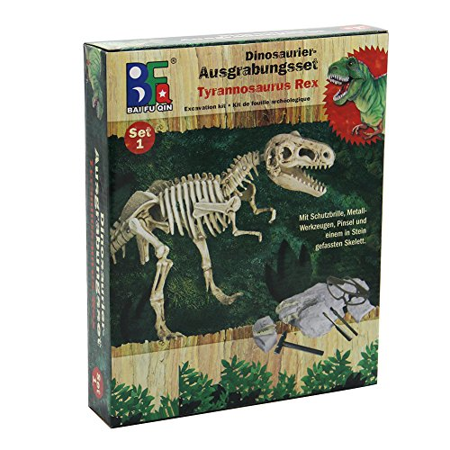 winemana Dinosaur Science Kit Dinosaur Fossil Digging Kit for Kids (A) (Dinosaur Fossil Making Kit)