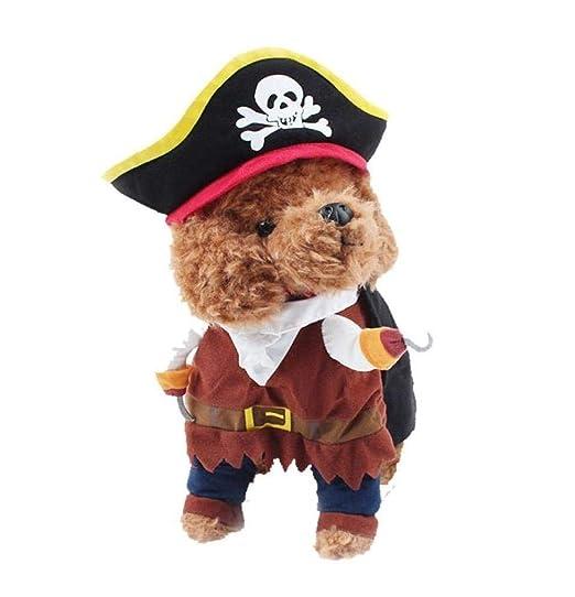 Disfraz De Perro Mascota Disfraces De Piratas De Gato,XL: Amazon ...