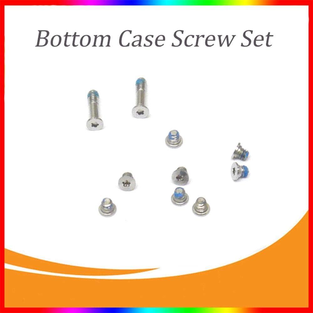 CHXIHome 10 pcs Bottom Screws Set for MacBook Air 13 2010 2011 2012 2013 2014 A1369 A1466