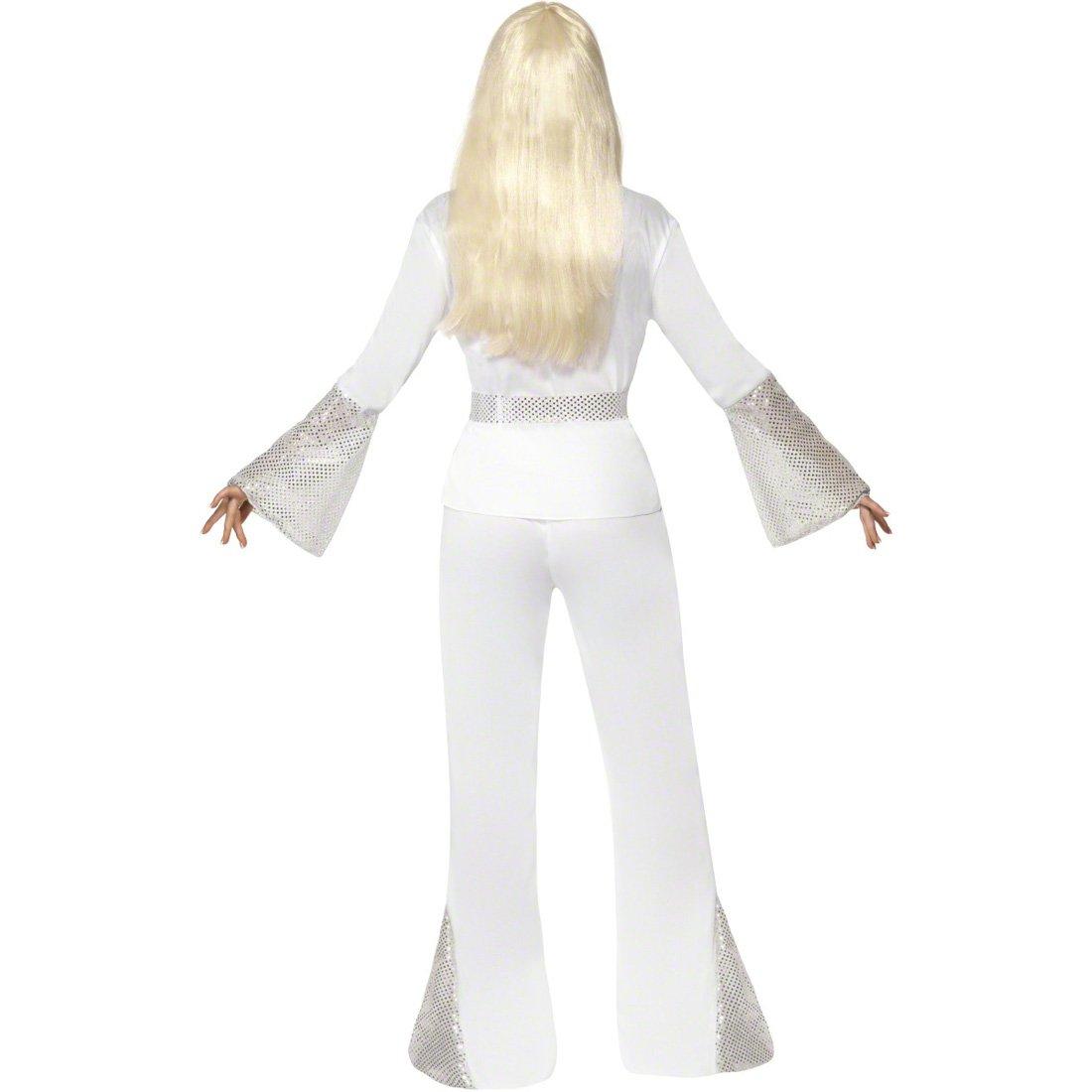 Baile de disfraces blanco M 40/42 disfraz traje danza traje de ...
