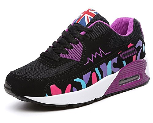 Women's Air-Cushioned Running Shoes Casual Fashion Sports Sneakers - 4