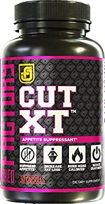 CUT-XT Appetite Suppressant That Works for Weight Loss - Stimulant-Free Appetite Control Supplement for Maximum Fat Burning - 20:1 Caralluma Fimbriata, EGCG, 5-HTP, & More - 30 Natural Veggie Pills