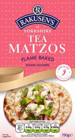(Rakusen's Tea Matzos, Kosher for Passover, 150 grams)