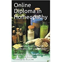 Online Diploma in Homeopathy: Interactive Training with Certification of Completion