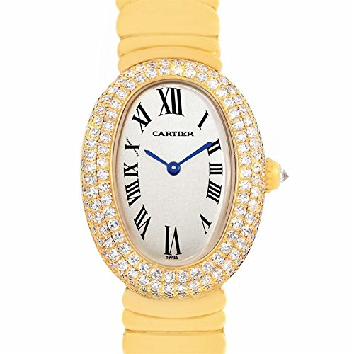 Cartier Baignoire Quartz Female Watch 1950 (Certified Pre-Owned)