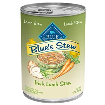 Blue Buffalo Irish Lamb Stew for Dogs, (Pack of 12 12.5-Ounce Cans) by Blue Buffalo