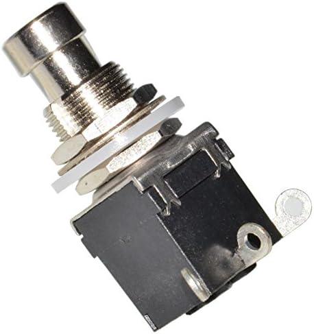 DIY Pedal Gear Parts® - 2 pedaleras de conmutación de efectos (3 ...