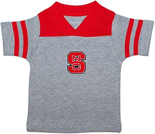 (North Carolina State University Wolf Pack Baby Sport Shirt Red)