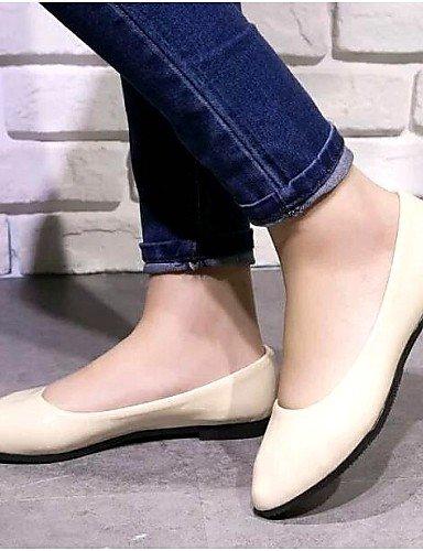 DFGBDFG PDX/Damen Schuhe Libo New Style Hot Sale flach Heel Comfort Wohnungen Office & Karriere/Casual Beige/Lila/Blau/Pink, pink-us8/eu39/uk6/cn39 - Größe: One Size
