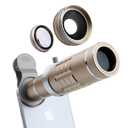 3 in 1 Universal Clip Lens (Gold) - 1