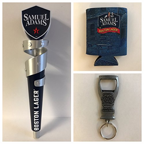 Samuel Adams Boston Lager Tap Handle 2017 Style - Keychain Opener & Can Cooler (Boston Ale Sam Adams)