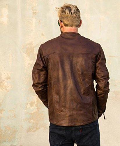 Roland Sands Design Barfly Jacket - Large/Tobacco